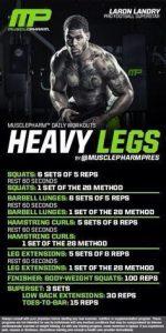 Heavy Legs (Rutina de piernas)