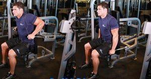 Extensión de tríceps en máquina