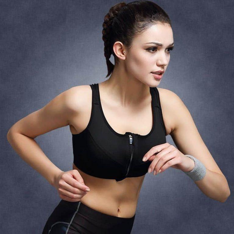 Sports kids bra No rims shockproof sports underwear bra font b yoga b font running fitness