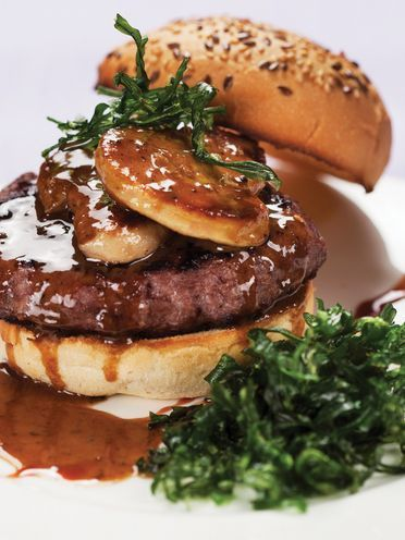 hamburguesa de ternera