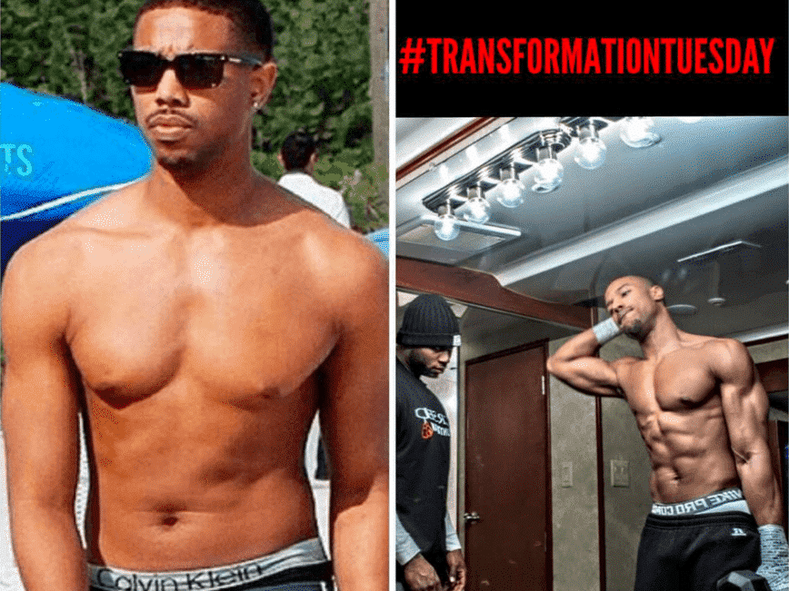 heres the workout michael b jordan used to get in insane shape for his boxing movie creed