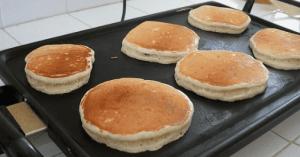 Tortitas de Batata y linaza
