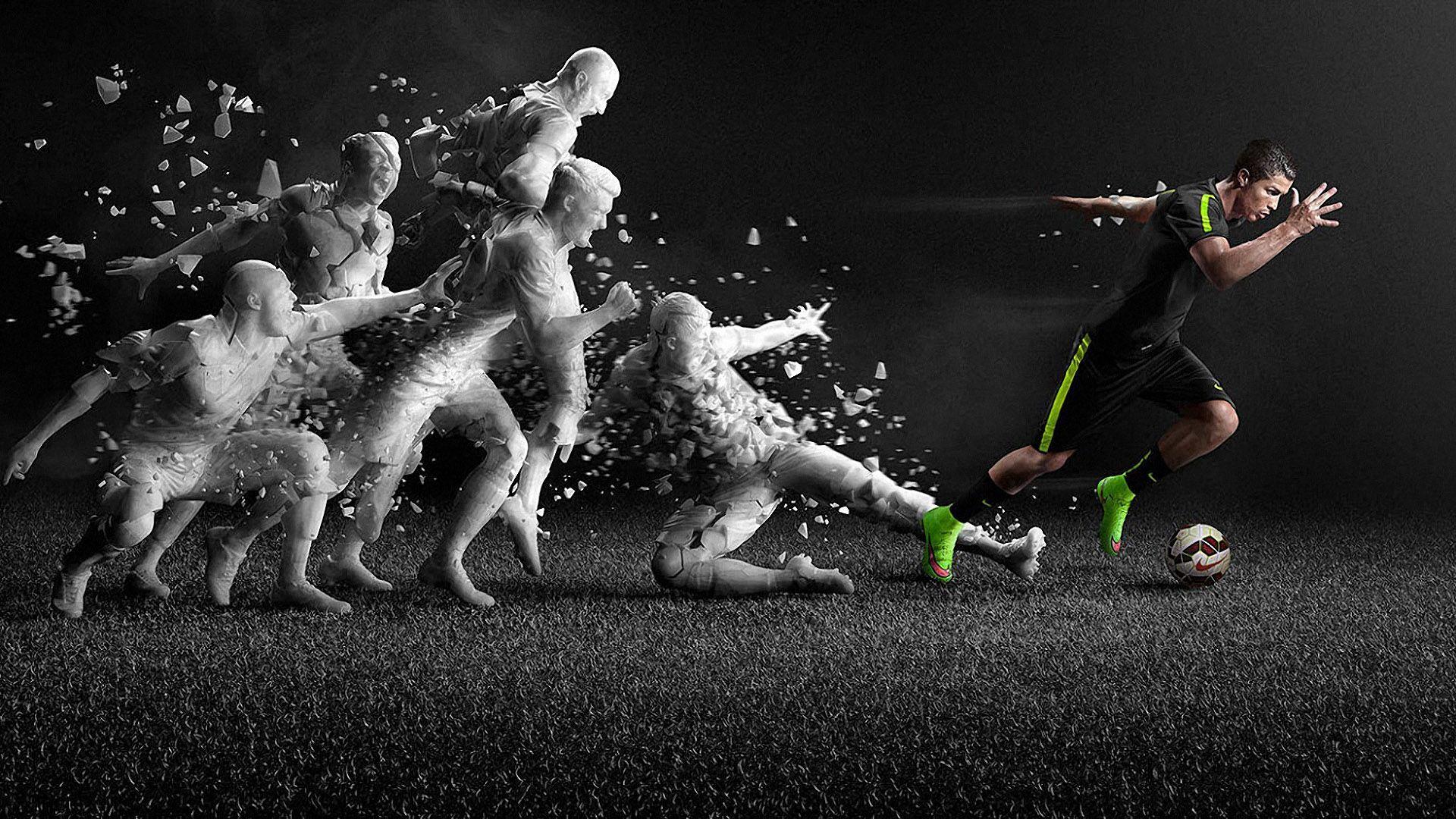 Entrenamiento de Cristiano Ronaldo 1