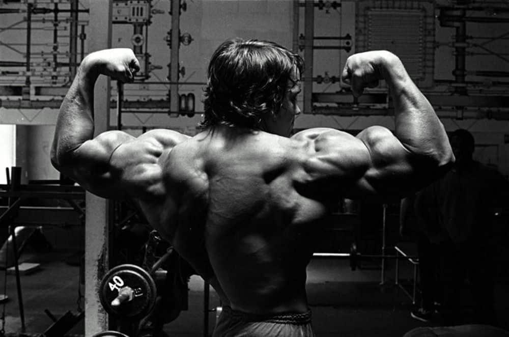 entrenamiento de arnold Schwarzenegger foto