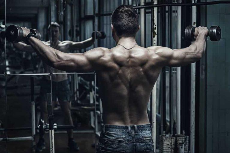 Rutina para ganar masa muscular 7 dias