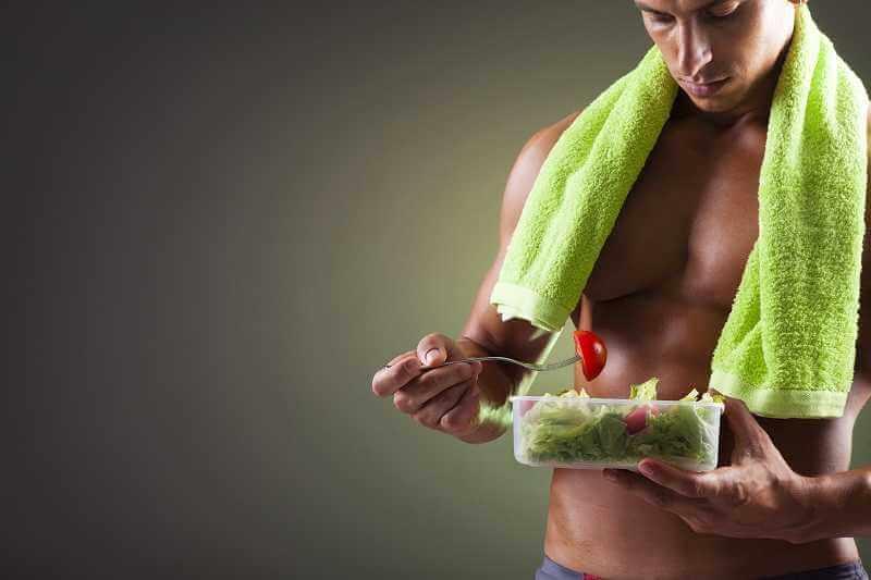 como aumentar masa muscular dieta