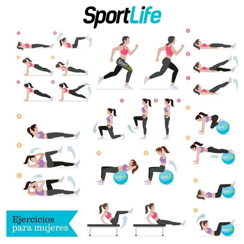 ejercicios para mujeres