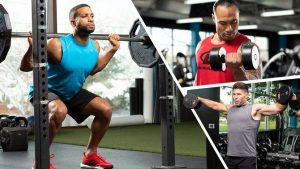 Rutina para ganar masa muscular 5 dias portada