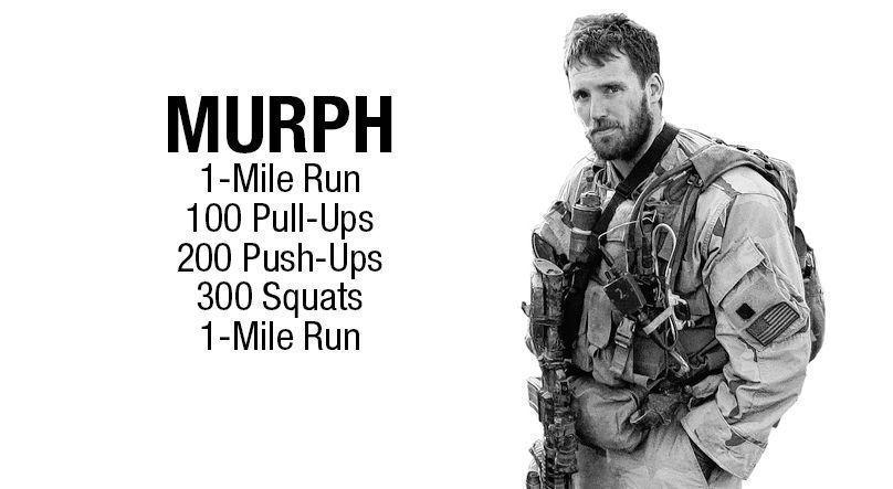 Wod Murph crossfit 1