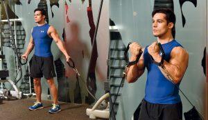 Entrenamiento para ganar Volumen:Bíceps y dorsal.