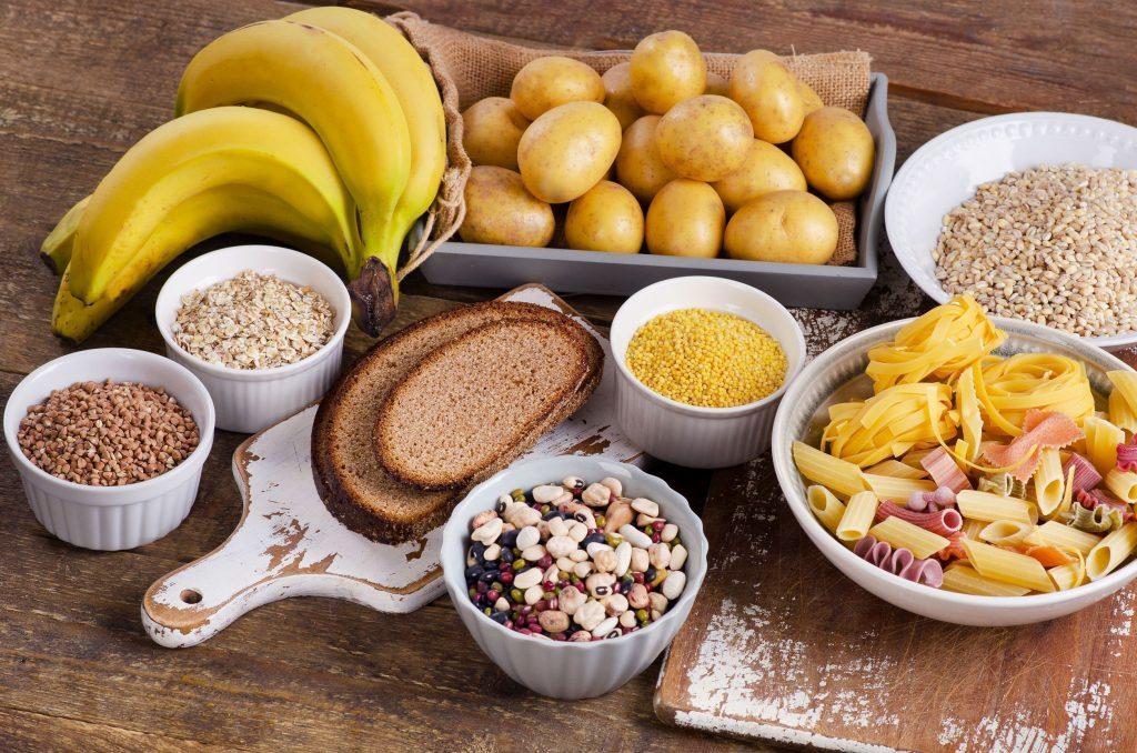 carbohidratos en dietas de volumen
