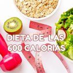 dieta 600 calorias
