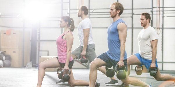 entrenamiento funcional en gimnasio