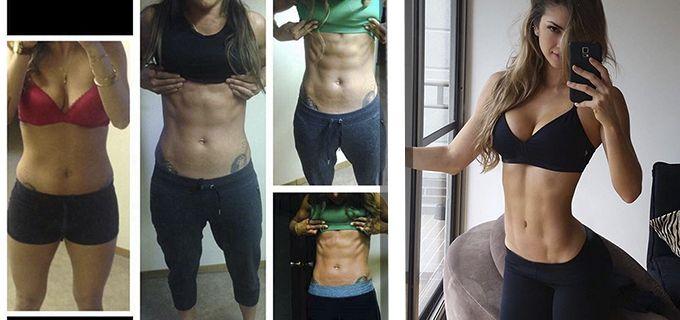 chica eliminar grasa corporal