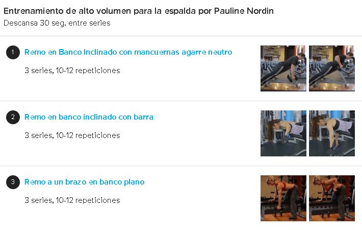 Rutina de espalda completa con Paulin Nordin 2