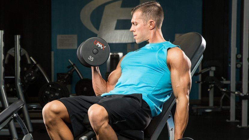 rutina de biceps para volumen