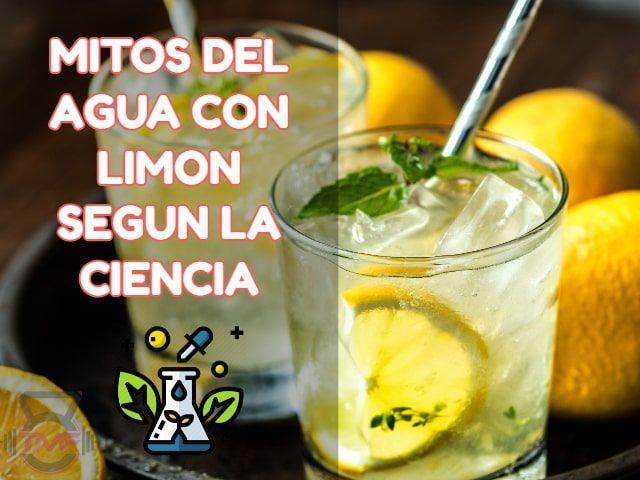 agua con limon