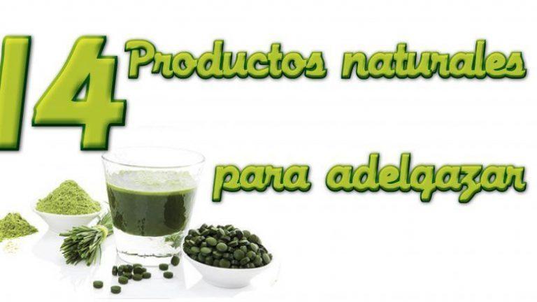 productos naturales para adelgazar