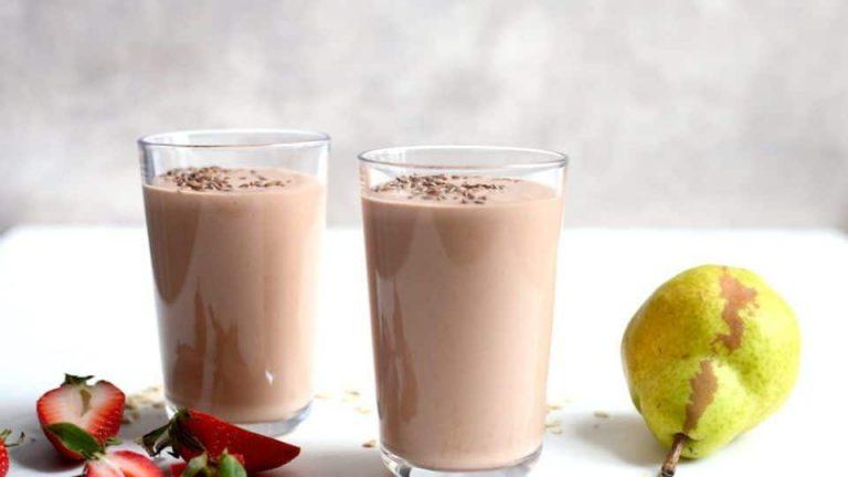 strawberry pancakes smoothie recipe 1 960x540