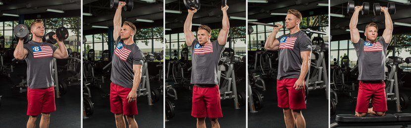 mejores movimientos que el press de hombro