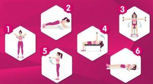 5 Ejercicios para levantar pecho