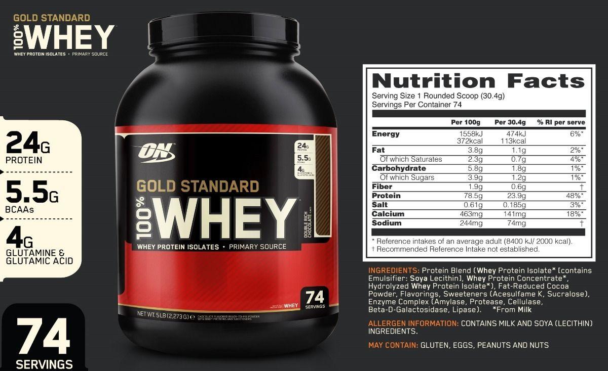 whey gold standard 5 lbs optimum nutrition on con invima D NQ NP 794379 MCO27610454987 062018 F