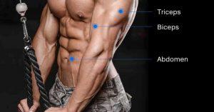 Triceps con cuerda