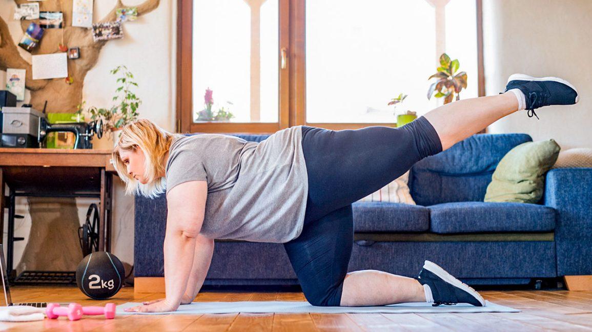 para quien es la rutina de ejercicios en casa