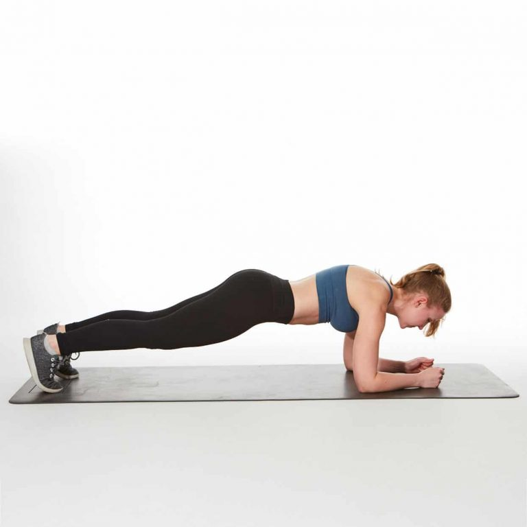 plancha ejercicio