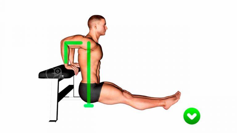 triceps en banco 1