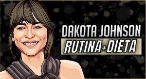 Entrenamiento de Dakota Johnson