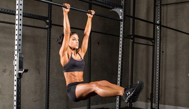 elevacion de piernas en barra 2