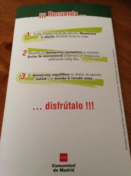 Dejuni intermitent Recomanacions Madrid Naturafit