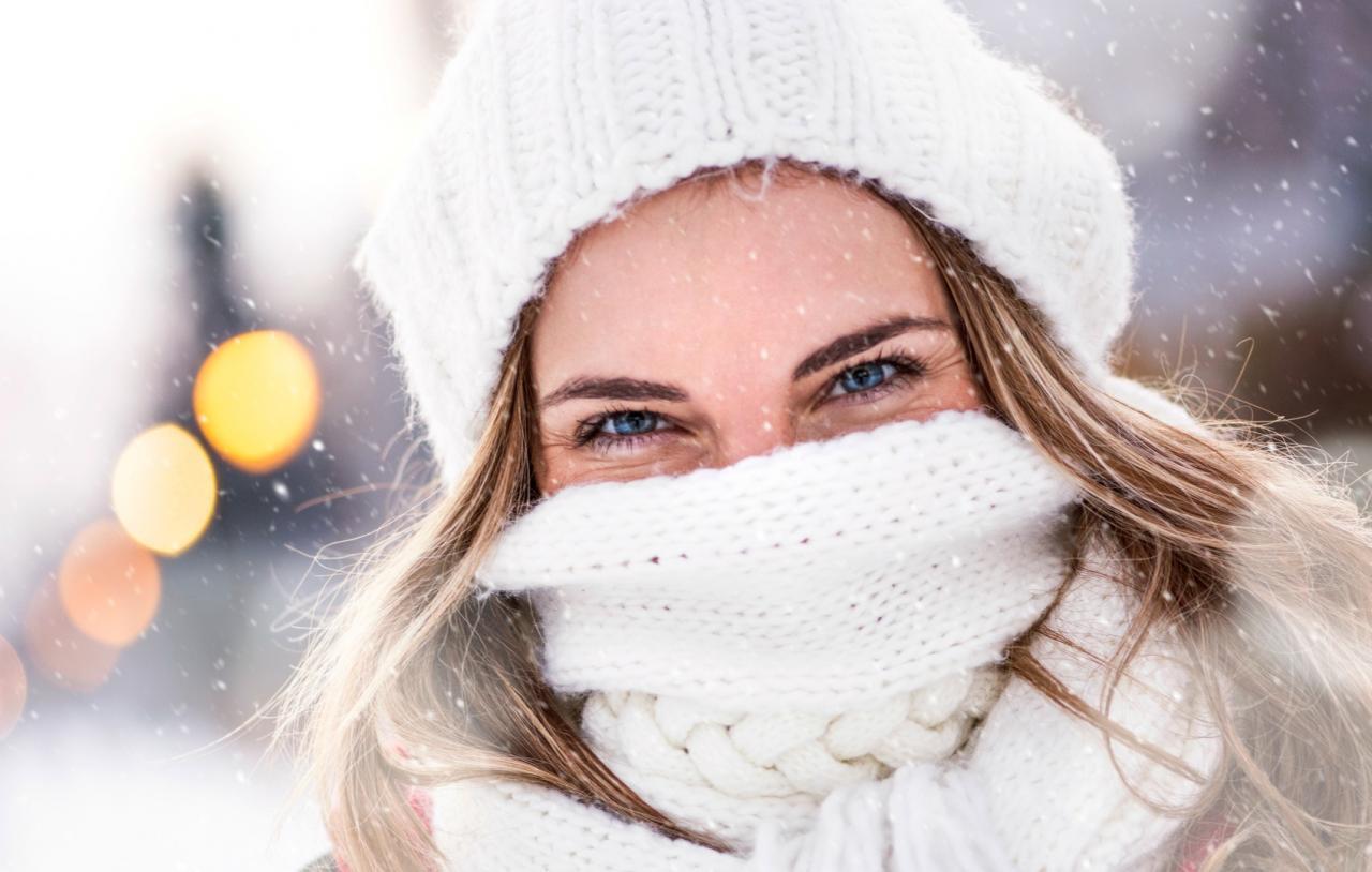 Donna inverno