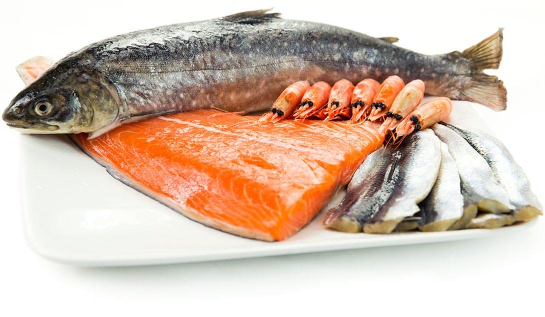 Lista de alimentos de la dieta Keto: pescado