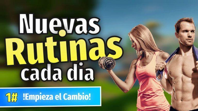 rutinas de gimnasio y rutinas de ejercicios